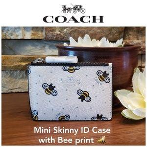 NEW Coach Mini Skinny ID Case w/ box